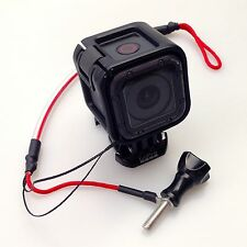 "GOPRO LEASH / TETHER 15CM SECURE THUMB SCREW ATTACHMENT - DON""T LOSE YOUR CAMERA"