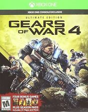 Gears of War 4 Xbox One Ultimate Edition Season Pass SteelBook Physical Disc