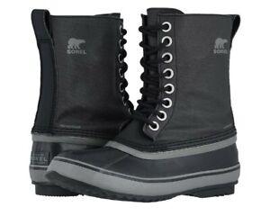 New Women's Sorel 1964 CVS Winter Boot's size: 8 color: Black/Quarry