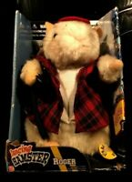 """Gemmy Roger Dancing Hamster """"Convoy"""" 2002 Never removed from box"""