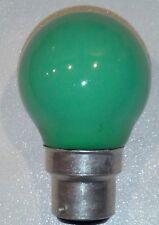 Ampoule sphérique incandescente B22 15W vert poudré SYLVANIA SUDRON Noël