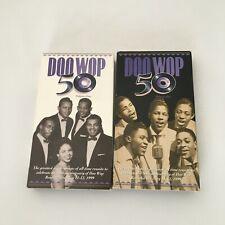 VHS Video: (Lot of 2) DOO WOP 5, Vol. 1 & 2, Rhino, Pittsburg 1999