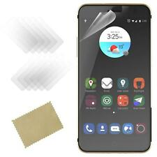 New Genuine Pack Of 5 Clear Film Phone Screen Guard Protector For ZTE Blade V7