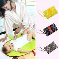 Baby Portable Foldable Waterproof Washable Travel Nappy Diaper Changing Mat Pads