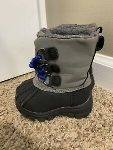 Baby Boys Size 4 Snow Winter Boots Children's Place