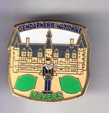 RARE PINS PIN'S .. GENDARMERIE CHATEAU CASTLE LOIRE CASERNE NEVERS 58 ~CO
