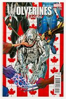 Wolverines #1 (2015 Marvel) Canada Variant! Nick Bradshaw Art & Cover! NM