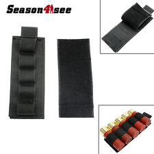 5 Round Outdoor Tactical Shotgun Shell 12 GA Ammo Carrier Holder Pouch Hunting
