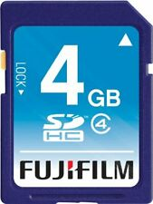 Fujifilm 4 GB SDHC Class 4 Flash Memory Card