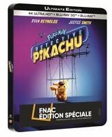 [Blu-ray] Pokémon Détective Pikachu Steelbook - NEUF SOUS BLISTER