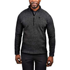 NWT Mens Gray  Spyder Outbound mid weight core Stryke Sweater Size X-Large XL
