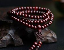 Bracciale Da Uomo Donna Collana Rosario Mala Tibetano in Legno Buddista