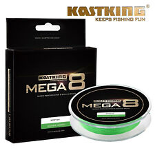 KastKing Mega 8 Braided Fishing Line 8 Strands Superline 274m - 10LB - Green