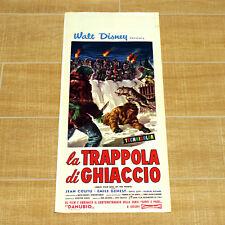 LA TRAPPOLA DI GHIACCIO locandina poster Disney Nikki Wild Dog of the North AQ25