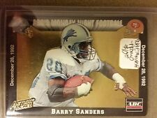 1993 Action Packed Monday Night Football Prototypes #MN1 Barry Sanders