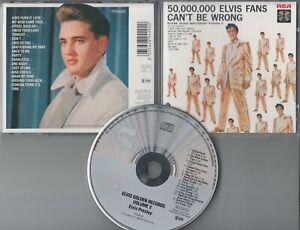 Elvis Presley  CD  GOLDEN RECORDS VOLUME 2  ©  1984  RCA