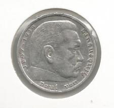 16F) GERMANY 5 REICHSMARK 1936A - SILVER 0,900 - XF/EBC