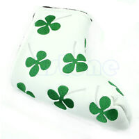 Clover Golf Putter Head Cover Headcover For Taylormade Ping Callaway White New