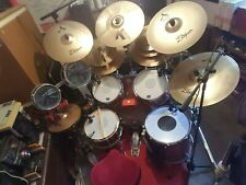 More details for truth drum kit with 10 zildjian cymbals and dw frame - will not split