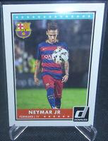 2015 Panini Donruss Soccer Neymar Jr. Rookie Card #69 FC Baecelona