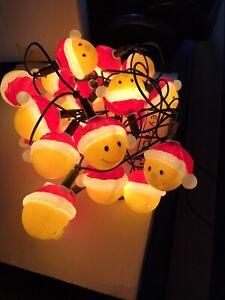 Fun Smiley Christmas Lights