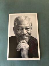 Morgan Freeman HOLLYWOOD ICON Autographed 4x6 Photo w/COA EXTREMELY RARE ITEM