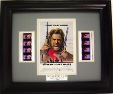 CLINT EASTWOOD OUTLAW JOSEY WALES FRAMED MOVIE FILM CELL
