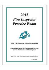 2015 ICC Fire Inspector Practice Exam on USB Flash Drive