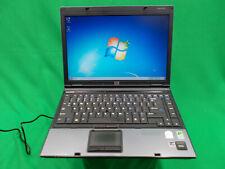 HP Compaq 6910p Intel Core 2 Duo @ 2.00GHz 160GB HDD 4GB RAM Windows 7 Pro