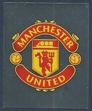 MERLIN-2007-F.A.PREMIER LEAGUE 07- #273-MANCHESTER UNITED TEAM BADGE-SILVER FOIL