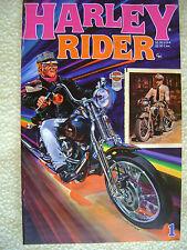Harley Davidson Harley Rider Comic Book