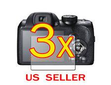 3x Fujifilm FinePix S4300 S4200 Clear LCD Screen Protector Guard Shield Film