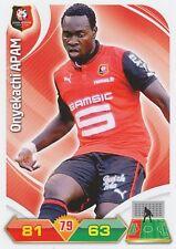 ONYEKACHI APAM NIGERIA STADE RENNAIS.FC TRADING CARDS ADRENALYN PANINI FOOT 2013