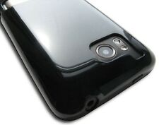 Gloss Black TPU Crystal Skin Case Cover HTC Thunderbolt