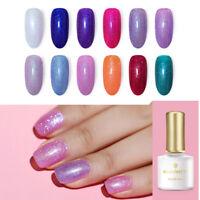 BORN PRETTY 6ml Rainbow Holographic UV LED Gel Soak Off Glitter Nail Gel Polish