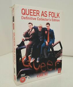 Queer As Folk UK 4-DVD Set Definitive Collector's Edition Complete Series 1&2 R2