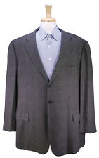 ERMENEGILDO ZEGNA Made for BB King Gray 100% Cashmere Sportcoat Blazer US 50L