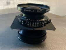 Schneider Apo-Symmar 210mm f/5.6 L Lens
