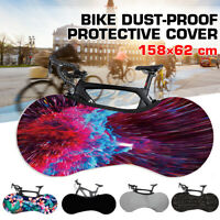 Bike Cycling Cover Indoor Anti-dust Bicycle Garage Wheel Chains Case Storage