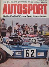 AUTOSPORT magazine 7 October 1971