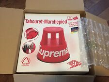 Supreme/Wedo Step Stool - Red - FW20 *BOX ONLY!!*