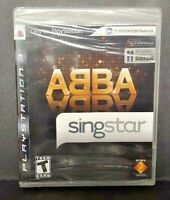 Singstar ABBA Sing Star - PlayStation 3 PS3 Game New Factory XY Sealed