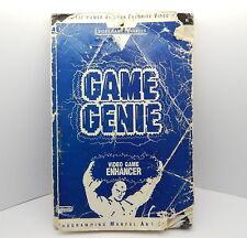 Galoob Game Genie Programming Manual and Codebook R13752
