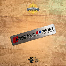 RS Audi Sport Garmany Team Goh Badge Emblem 3D TT TTS TTRS S3 S Line Quattro 39