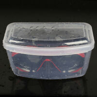 Scuba Dive Diving Snorkel Mask Lenses Storage Box Hard Case Craft Heavy Duty