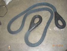 "Military Tow Rope - 1.5"" Nylon 4x4 recovery atv bar hook grab rock crawler NICE!"