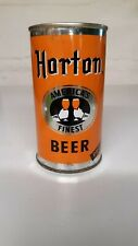 New listing Tough Horton's 12 oz. pulltab beer can *clean!*