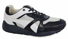 Puma Trinomic XS500 X Miitaly Mens White Black Lace Up Trainers 357262 01 P2