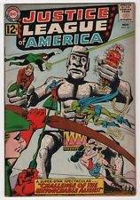 Justice League of America #15 nice 1962 DC Flash Wonder Woman create-a-lot