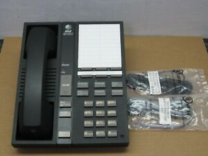 AT&T/Avaya Spirit Black 6 Button Electronic Telephone (3130-0006BL)(2 In-Stock)